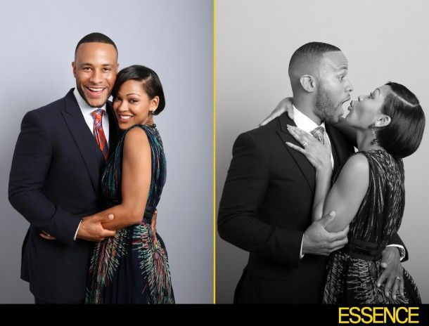 Exclusive: 'Black Women in Hollywood' Photo Booth: Meagan Good and DeVon Franklin