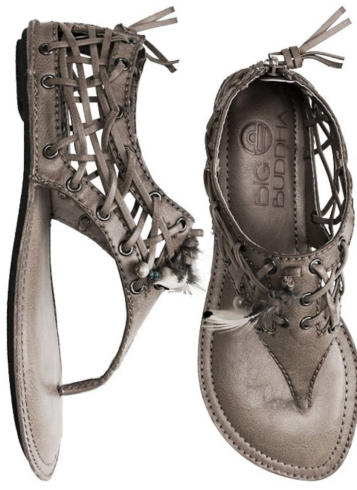 Lovee these sandals.