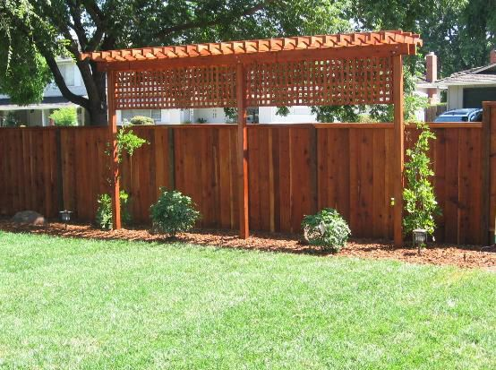 Fence & Trellis privacy screen when you live close to your neighbors