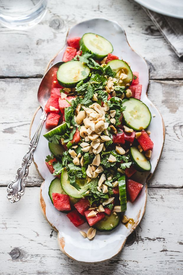 Watermelon Salad // photography by Izy Hossack