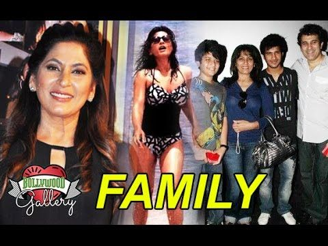 Archana Puran Singh Family With Mother, Husband, Sons and Brother Photos