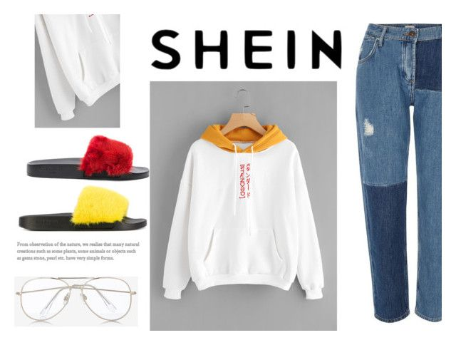 """SHEIN"" by saracreafash on Polyvore featuring moda, River Island, Express y Givenchy"