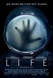 Life (2017) R Horror, sci fi, thriller  7.8  A team of scientists aboard the International Space Station discover a rapidly evolving life form, that caused extinction on Mars, and now threatens the crew and all life on Earth.