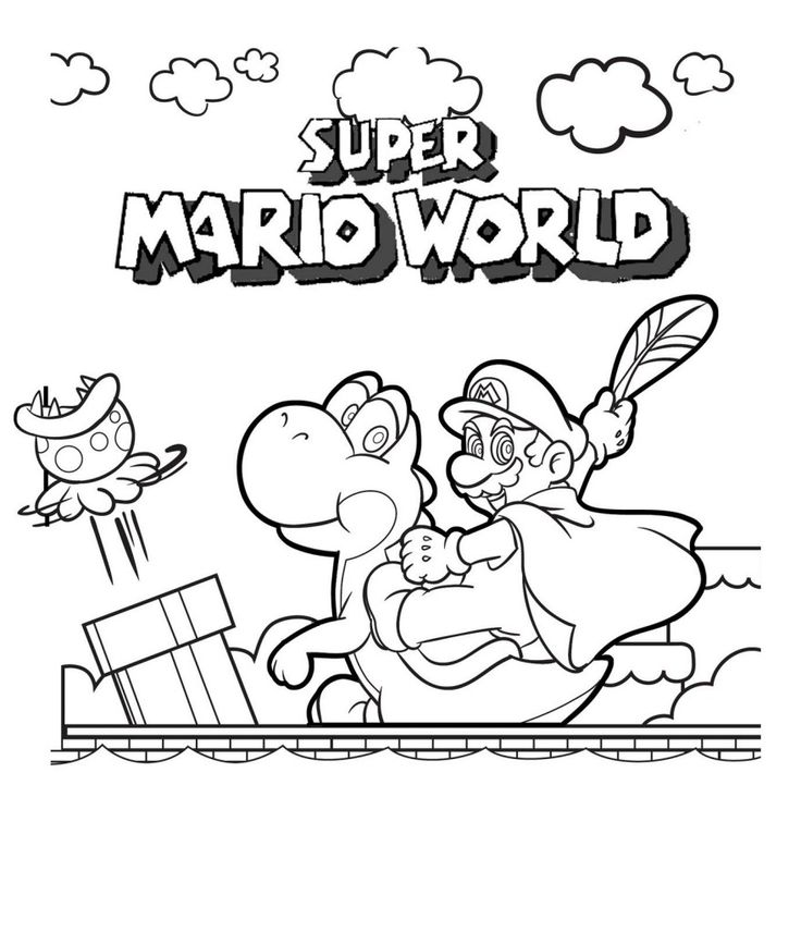 Find This Pin And More On Luigi Time Free Printable Mario Coloring Pages For Kids