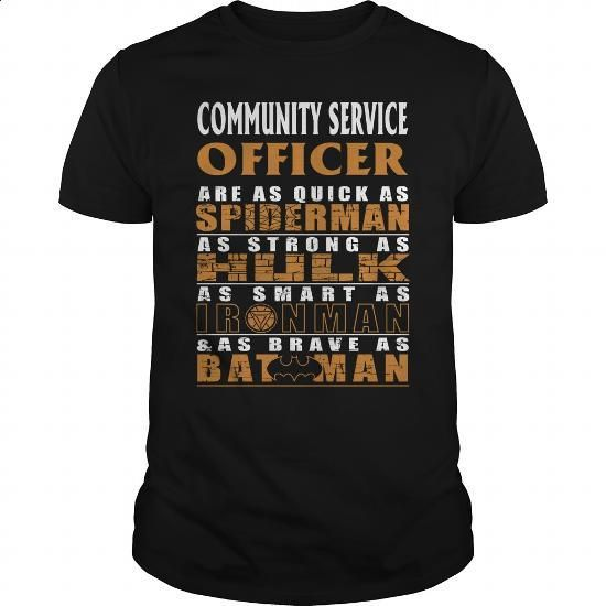 COMMUNITY SERVICE OFFICER - BATMAN #teeshirt #Tshirt. GET YOURS => https://www.sunfrog.com/LifeStyle/COMMUNITY-SERVICE-OFFICER--BATMAN-Black-Guys.html?60505