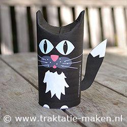 Afbeelding van de traktatie Zwarte kat