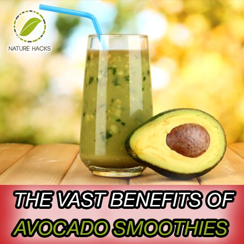 The Best Benefits of Avocado Smoothies