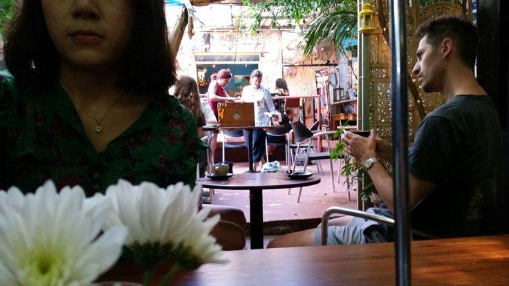 Sappho's Cafe. Glebe, Sydney
