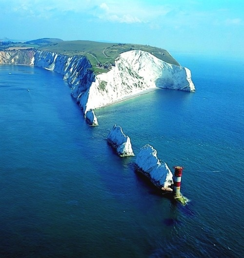 | ♕ |  The Needles, Isle of Wight, England  | by wightlink