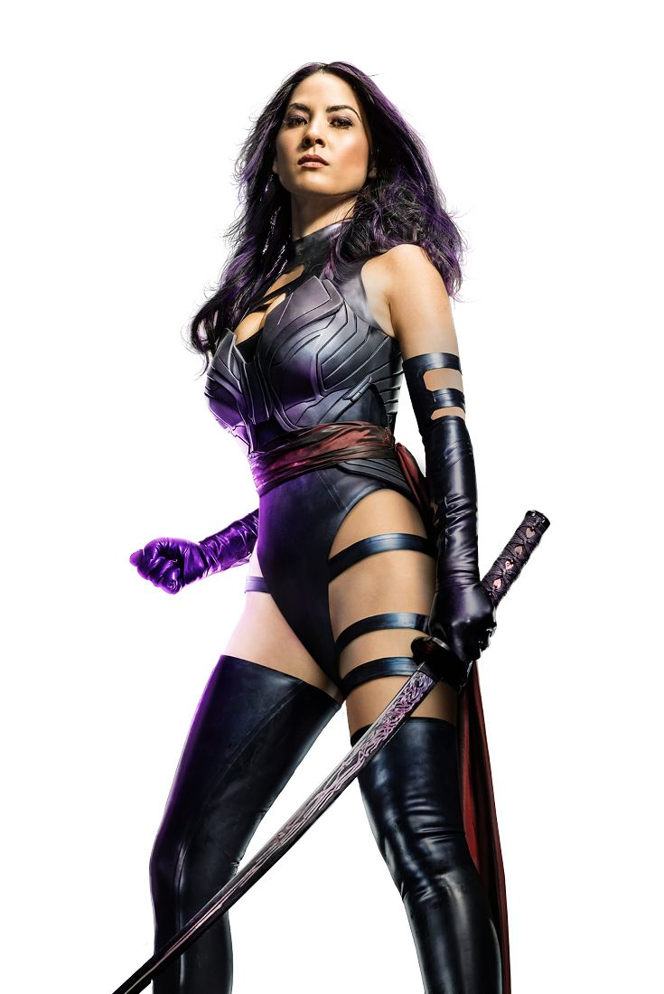 Show off some serious Psylocke fighting skills with these intense cardio moves.  1. ATTACK THRUSTS – With right leg out, jab your right hand forward 3x while shuffling, shuffle back and do the same move with the left hand. (45 seconds, 3 Reps)   2. CROSS JACK ATTACKS – Perform jumping jacks while crossing your legs and arms with one another. (45 seconds, 3 sets)   3. JAB ATTACK – With right leg out, strike with your hand high, middle and low. Repeat on opposite side. (45 seconds, 3 Reps)