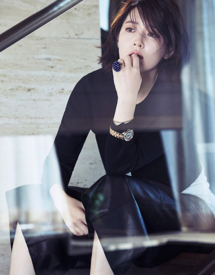 Lee Young Ae - J Look Magazine October Issue '15