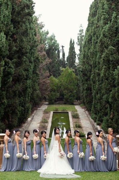 pretty bridesmaids dresses