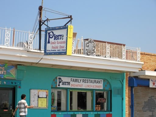 Pierre S Family Restaurant On The Boardwalk Wildwood Days In 2018 Pinterest Beach North And Nj