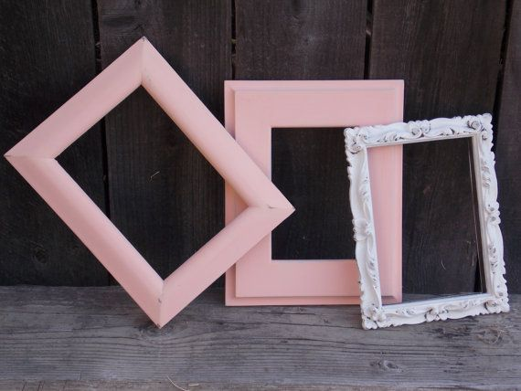 GRAND OPENING SALE**Set of 3 Shabby Chic frames