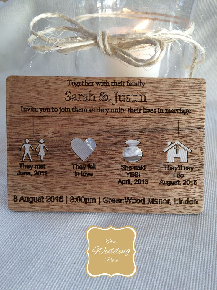 Wedding Invite - Tell Your Story