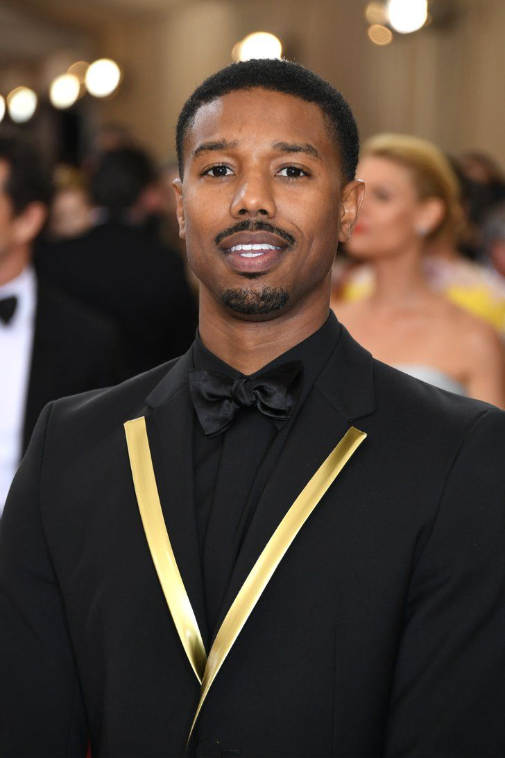 Pin for Later: Feast Your Eyes on All the Handsome Celebrity Guys at the Met Gala Michael B. Jordan