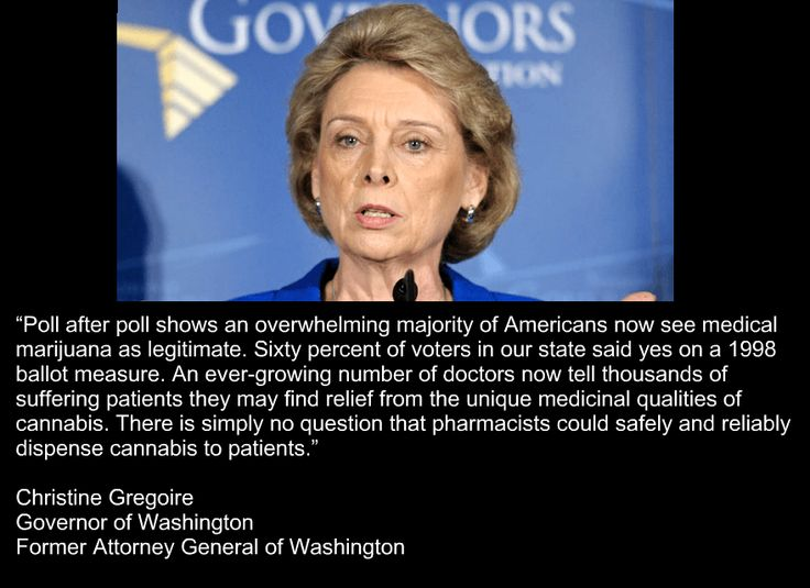 Christine Gregoire  Former Governor of Washington  #marijuana #reform #warondrugs #cannabis #thc #Wa #seattle #thc