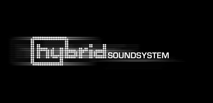 Hybrid Soundsystem Logo Wallpaper