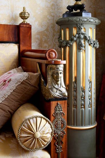 my french romance .. X ღɱɧღ    antique furniture and decorating embroidery