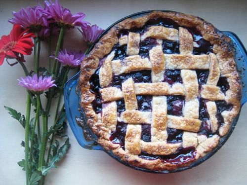 Mixed Berry Pie with Cinnamon and Lemon - This pie is full of flavors and such a beautiful colorful addition to a holiday table. It's one of my hubby's favorites.