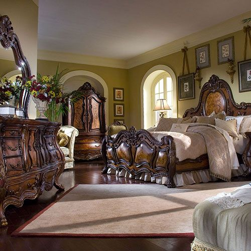 Chateau Beauvais Bedroom Michael Amini Furniture Designs Tuscan Decor Love