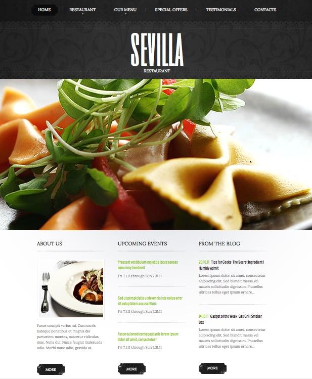 Sevilla Restaurant site