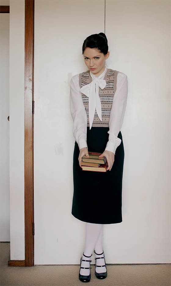 classic librarian - Naughty Librarian Halloween Costume