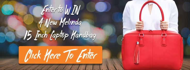 Win a Melinda 15 Inch Laptop Handbag