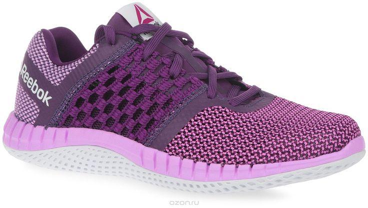 Купить кроссовки Reebok, цвет: розовый, фиолетовый. Кроссовки женские для бега Zprint Run. V71820 - цена в интернет-магазине обуви OZON.ru