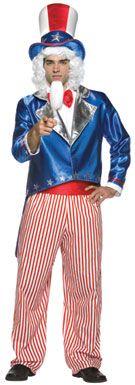 Patriotic Costume - Uncle Sam Costume