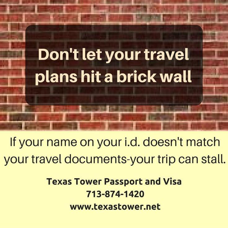 Texas Travel Documents