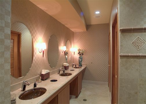 restroom design at the kettering medical center - Restroom Design