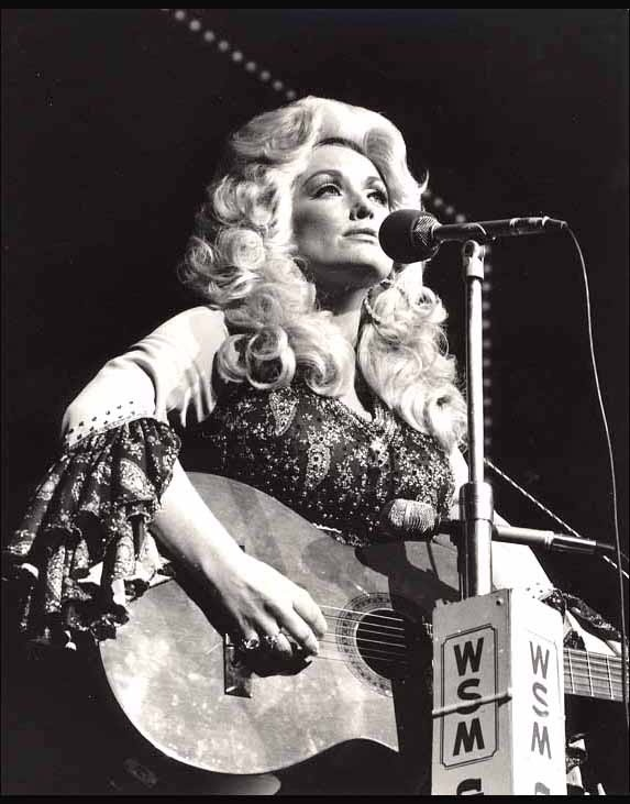 Confession: It's my dream to meet Dolly Parton.