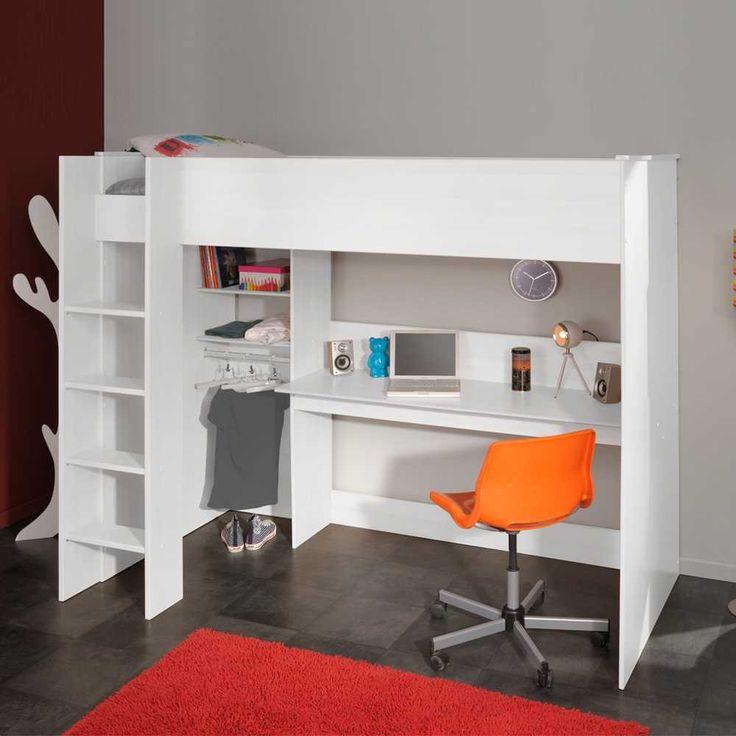 Die besten 17 ideen zu hochbett mit schreibtisch auf for Ikea stuva hochbett