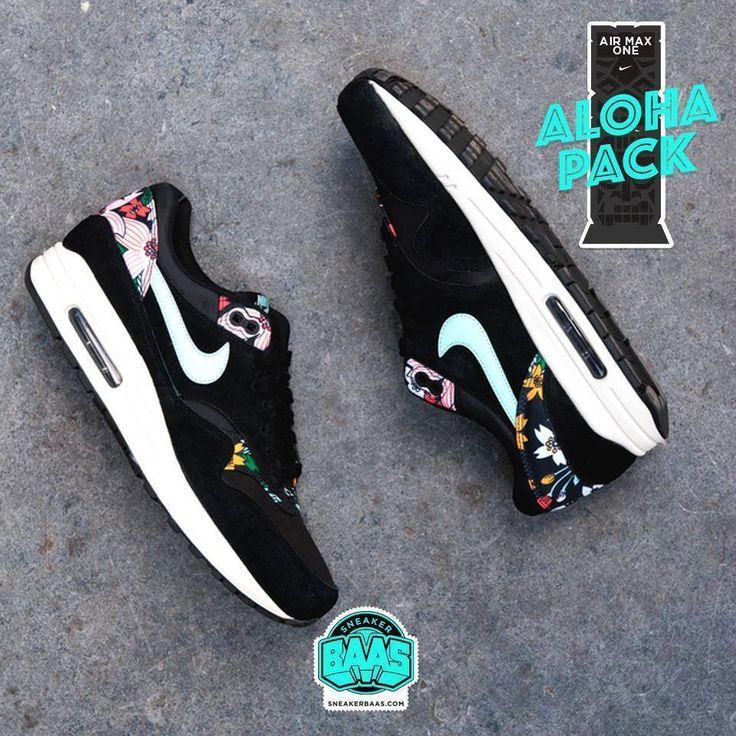 "#nike #aimax1 #aloha #sneakerbaas #baasbovenbaas  Nike Air Max 1 ""ALOHA"" last sizes!  For more info about your order please send an e-mail to webshop #sneakerbaas.com!"