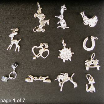 Some products we have reduced in price to sell fast. Mostly only one of each is available and won't be restocked. Buy mega-charm-pack online at Chain Me Up - 101 charms at less than $5 each