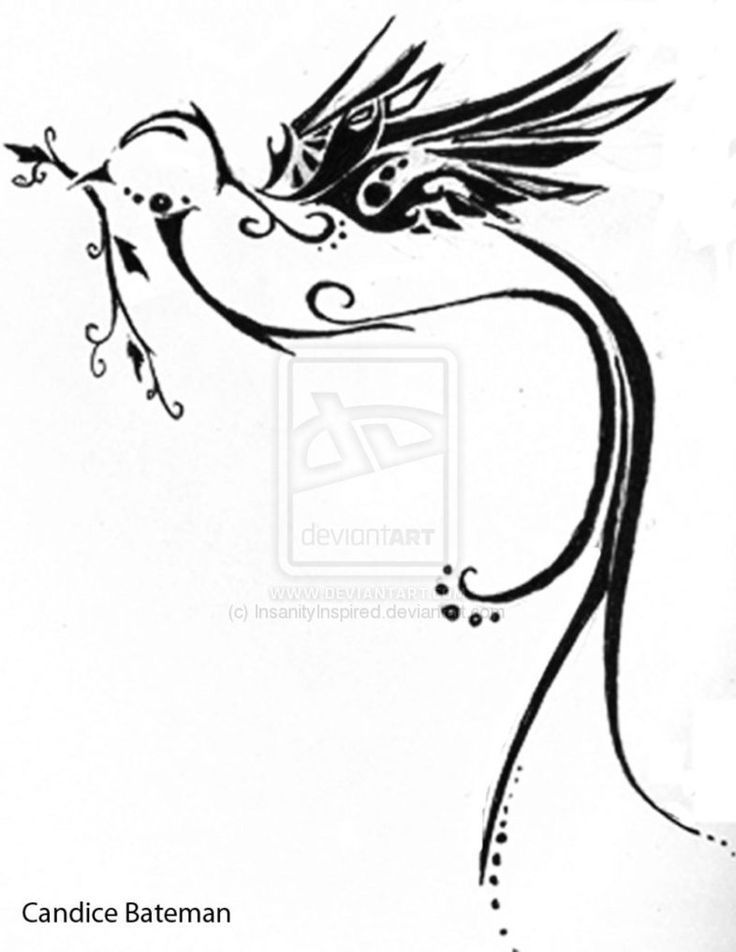 Peace Dove Tattoo Design by ~InsanityInspired on deviantART tattoos | tattoos picture dove tattoo designs