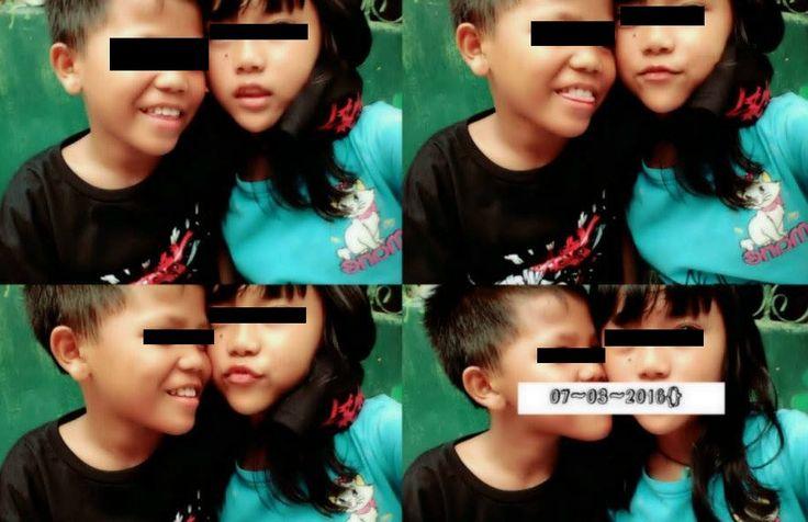 Alamak, Unggah Foto Bareng 'Pacar' Bocah Sekolah Dasar Ini Panen Bullyan Netizen