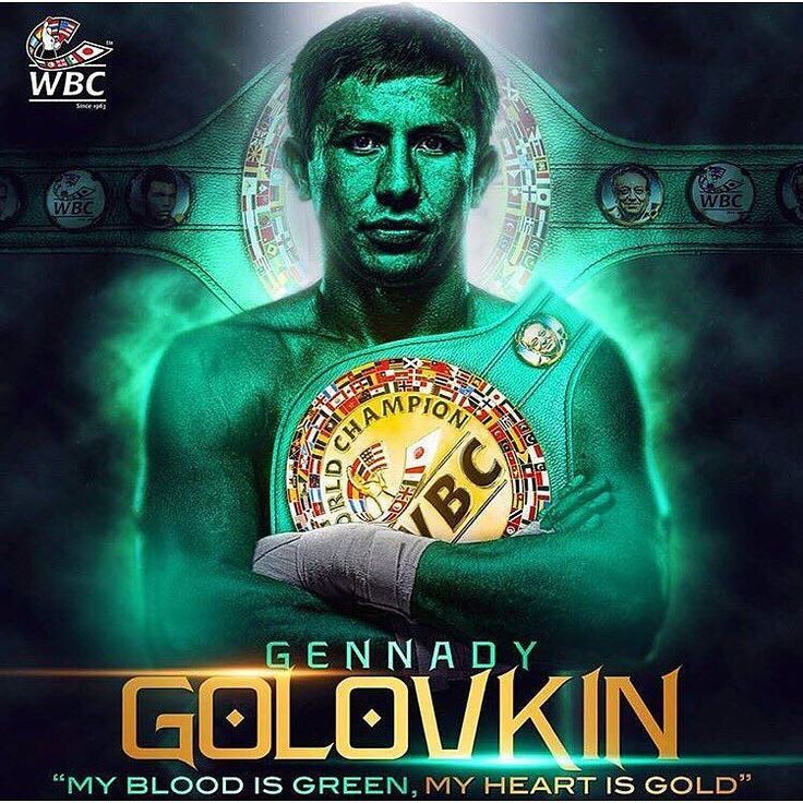 Congratulations to Gennady Golovkin. #boxing #ggg #wbc