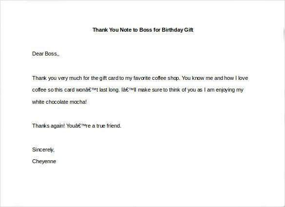 25+ unique Appreciation letter to boss ideas on Pinterest New - thank you notes to boss