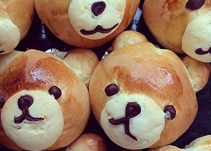 Verdens beste bamseboller med vaniljekrem