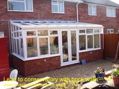 Lean to conservatory, lean to conservatories, Lean to conservatories designs
