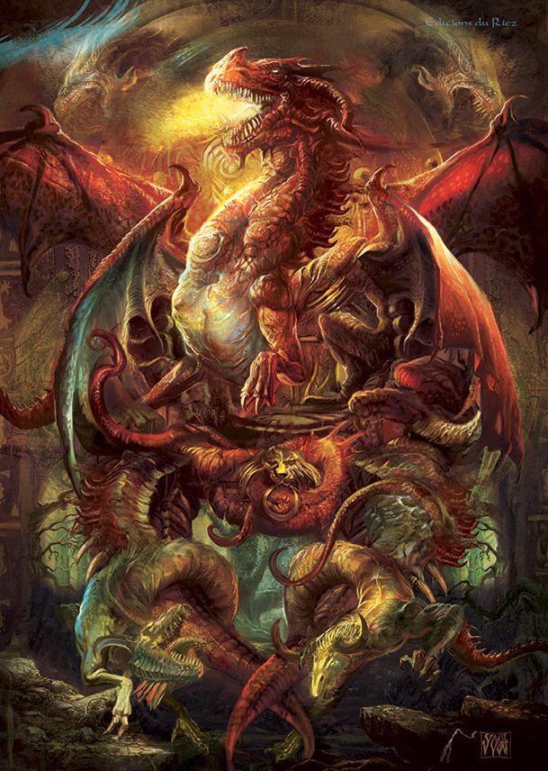 Red Dragons by Yogh-Art.deviantart.com