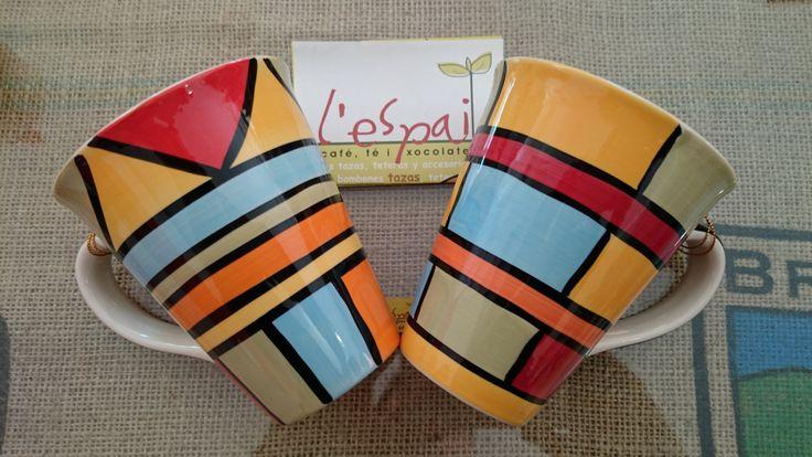 Llena tu taza de arte ¿Piet Mondrian? ¿Verdad que si?