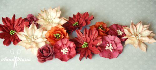 Kwiatki z papieru - kurs, jak wykonać