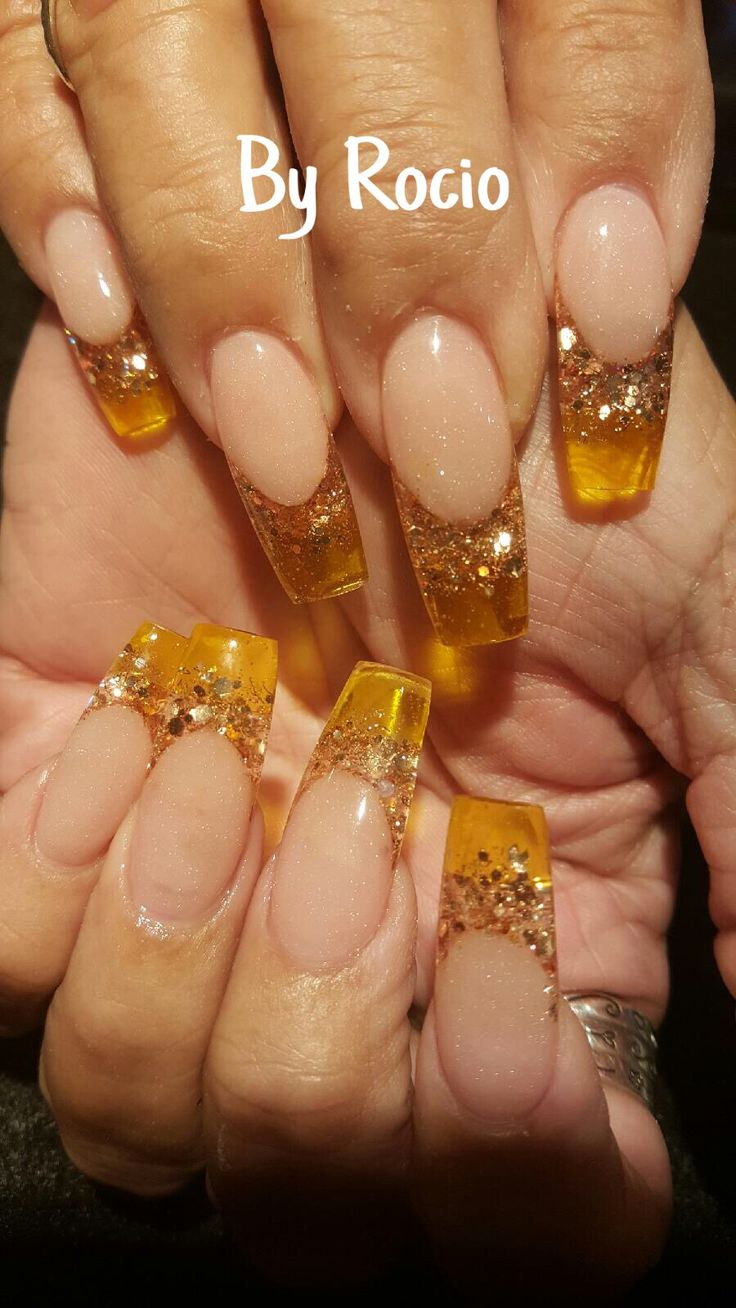 Encapsulated nails by Rocio !