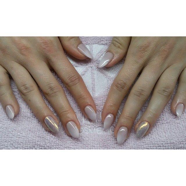 #indigo #semilac #diamondcosmetics #indigonails #ombre #instanails #nails #hybryda #hybrid #manicure #mani #efektsyrenki #syrenka #mermaidnails
