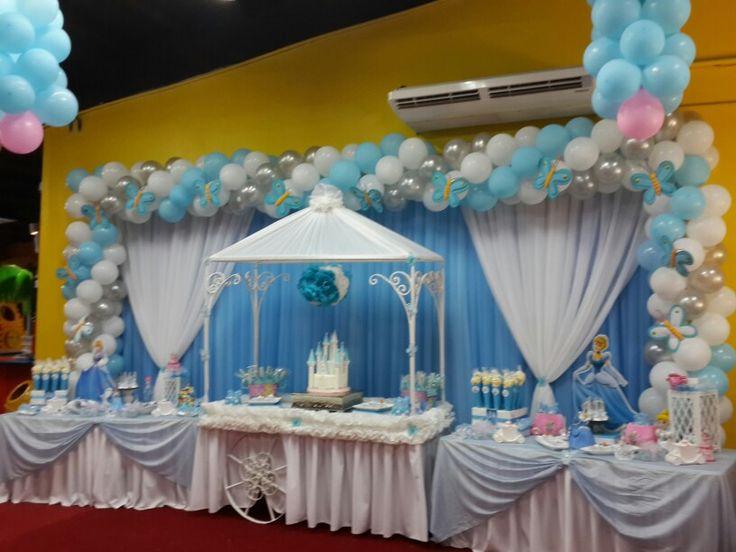 Cindirella birthday decoration Cenicienta decoración de cumpleaños ...