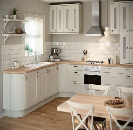 B&Q IT Stonefield Stone Classic Style Kitchen. Kitchen-compare.com - Home - Independent Kitchen Price Comparisons