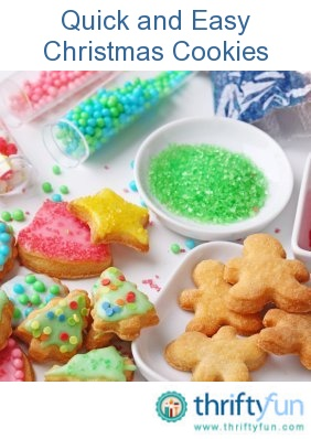 17 best images about christmas cookies on pinterest for Easy quick christmas baking recipes
